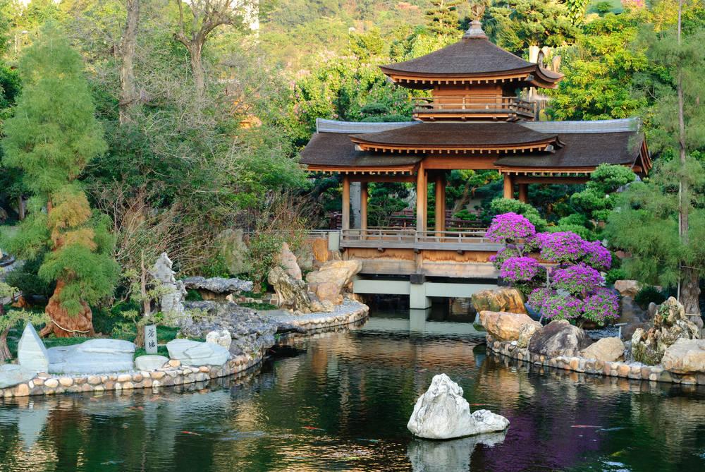 Jardín japonés, donde reina el equilibrio