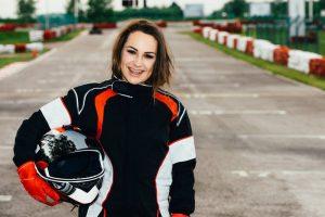 Las mujeres toman el circuito de velocidad