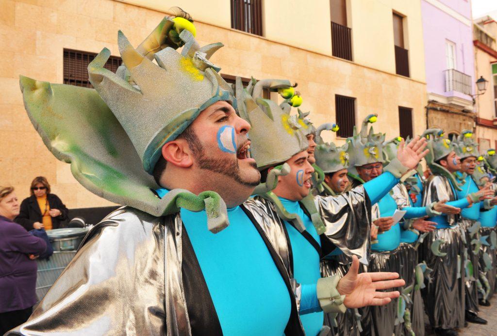 El carnaval de Cádiz y la chirigota